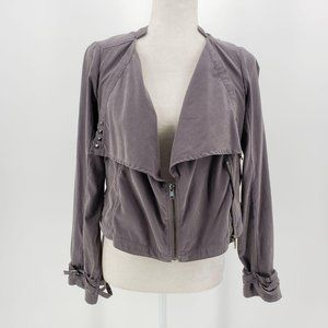 Lovestitch Gray Lightweight Jacket Women's Small